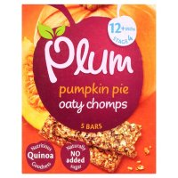 Product Withdrawal Notice - PLUM BABY OATY CHOMPS BARS – PUMPKIN PIE VARIANT (5 X 20G)
