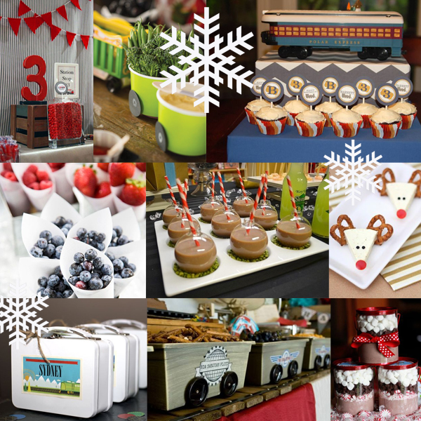 Magnificent Kids Birthday Party Polar Express Monsters And Munchkins Blog Funny Birthday Cards Online Fluifree Goldxyz